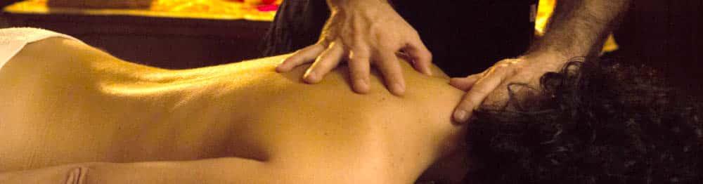 Quiromasaje para las contracturas en la espalda