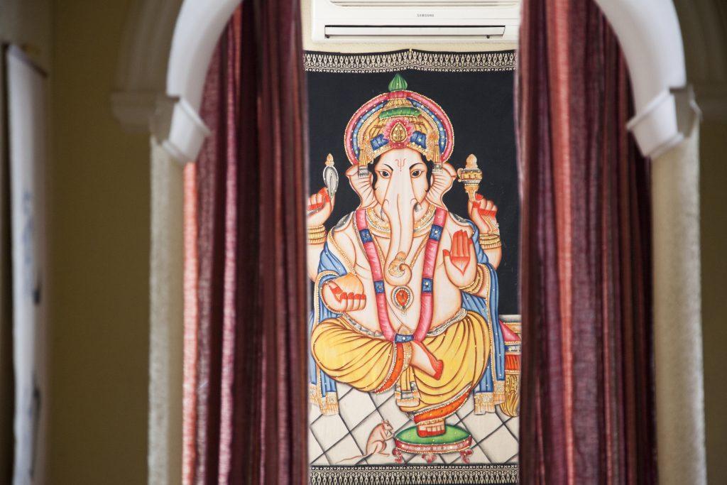 Telar de Ganesha de la filosofía indú